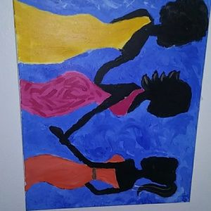 (3) sister painting